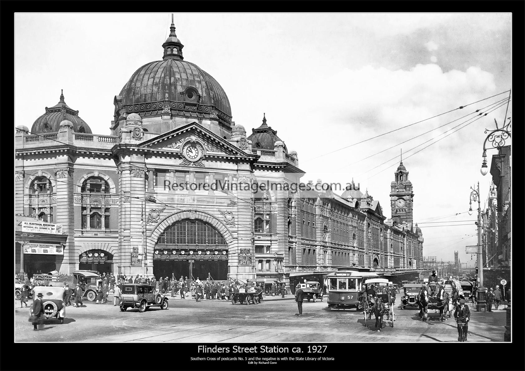 Flinders Street Station Ca. 1927