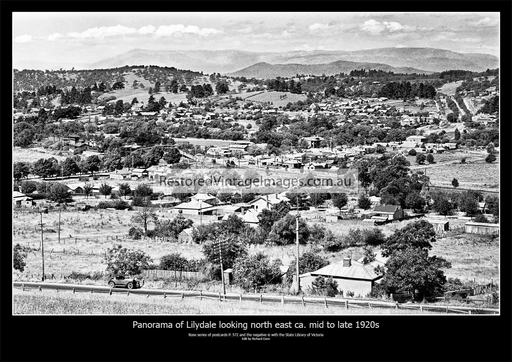 Lilydale Looking North East Mid To Late 1920s