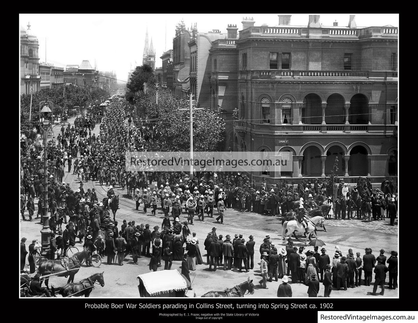 Boer War Procession 1902