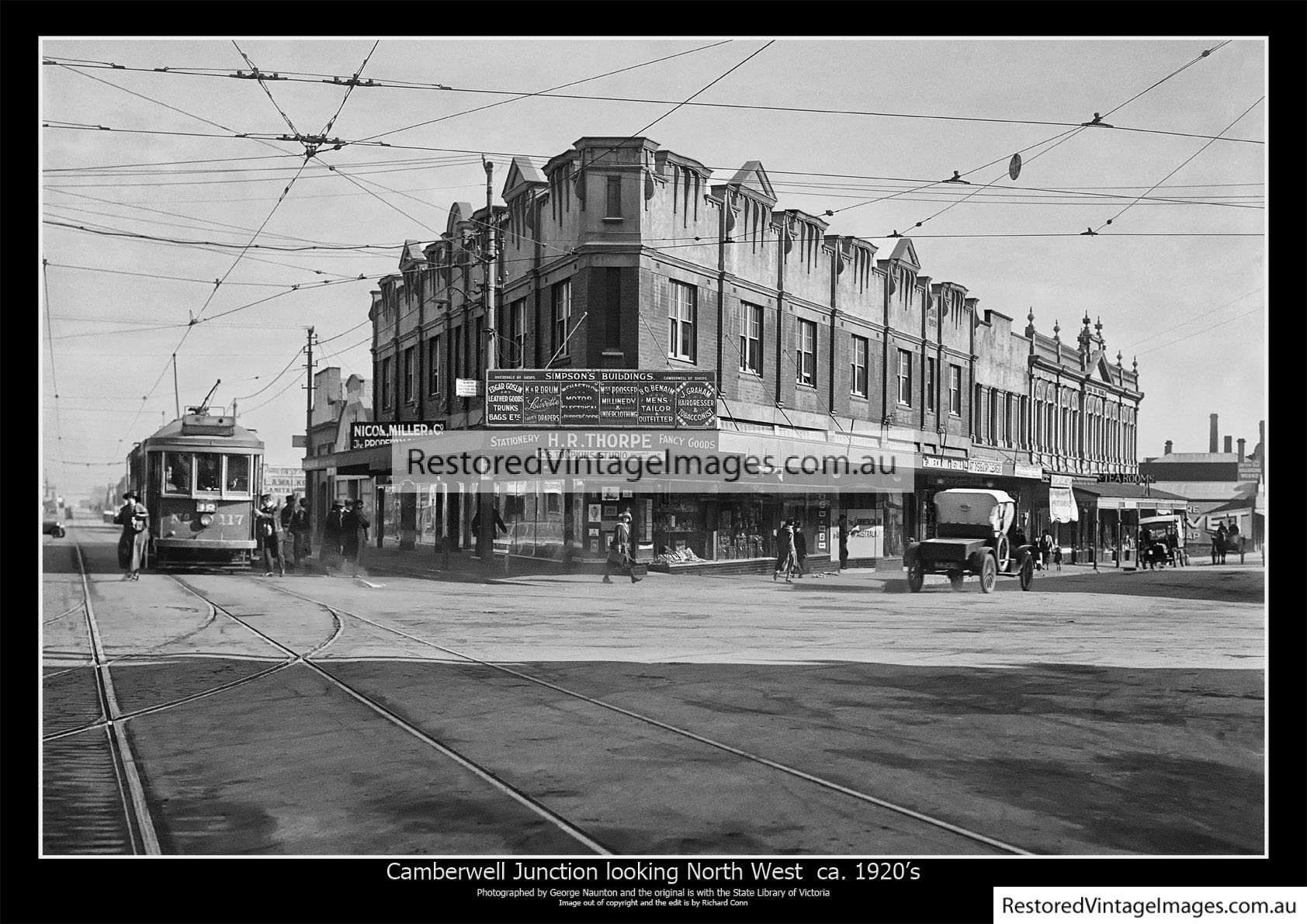 Camberwell Junction 1920s