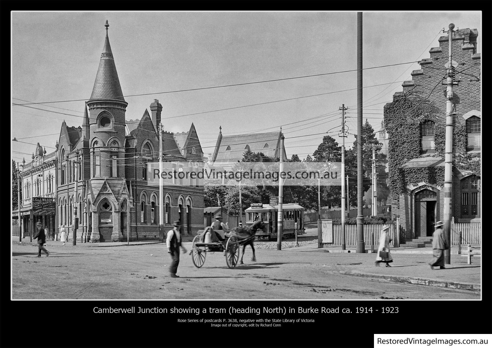 Camberwell Junction 1914 – 1923