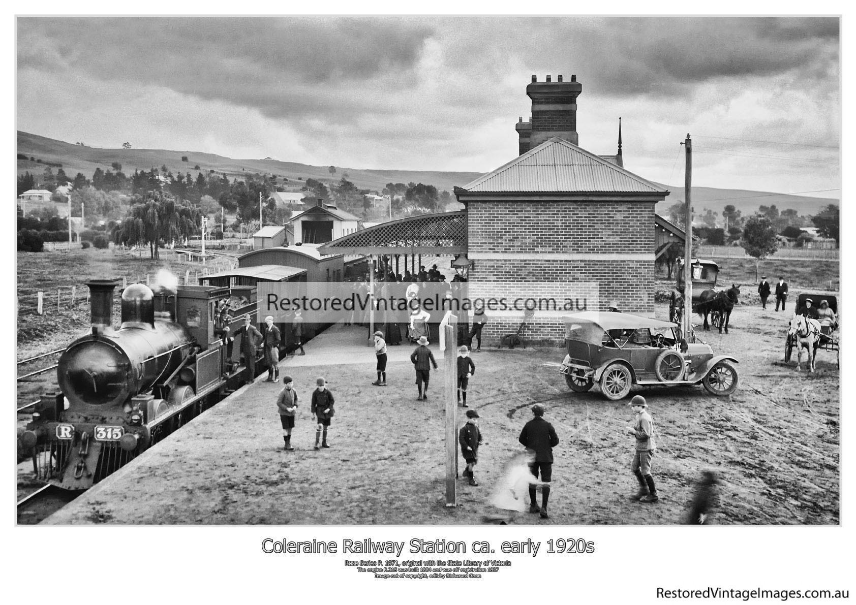 Coleraine Railway Station 1920s