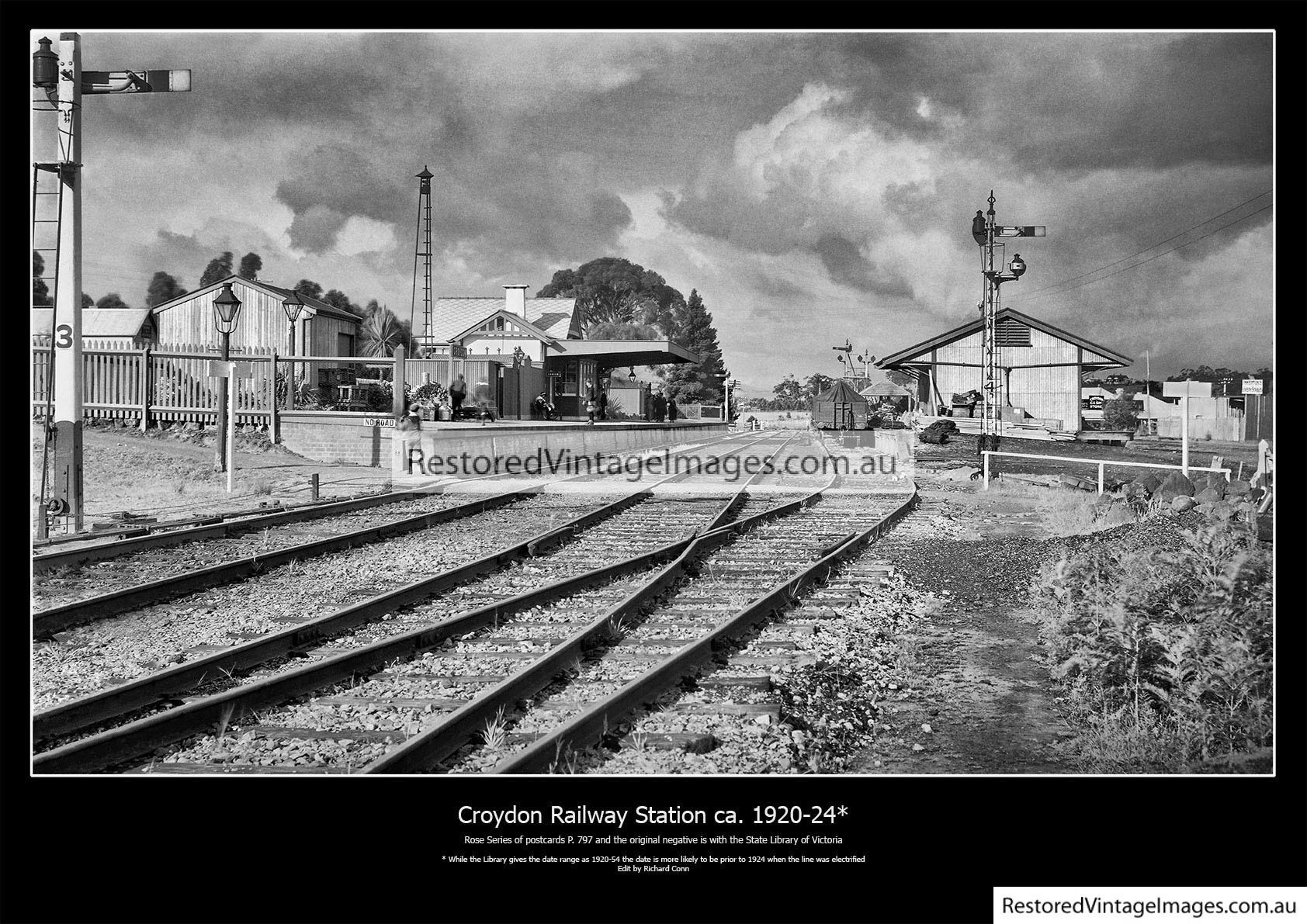 Croydon Railway Station 1920-24