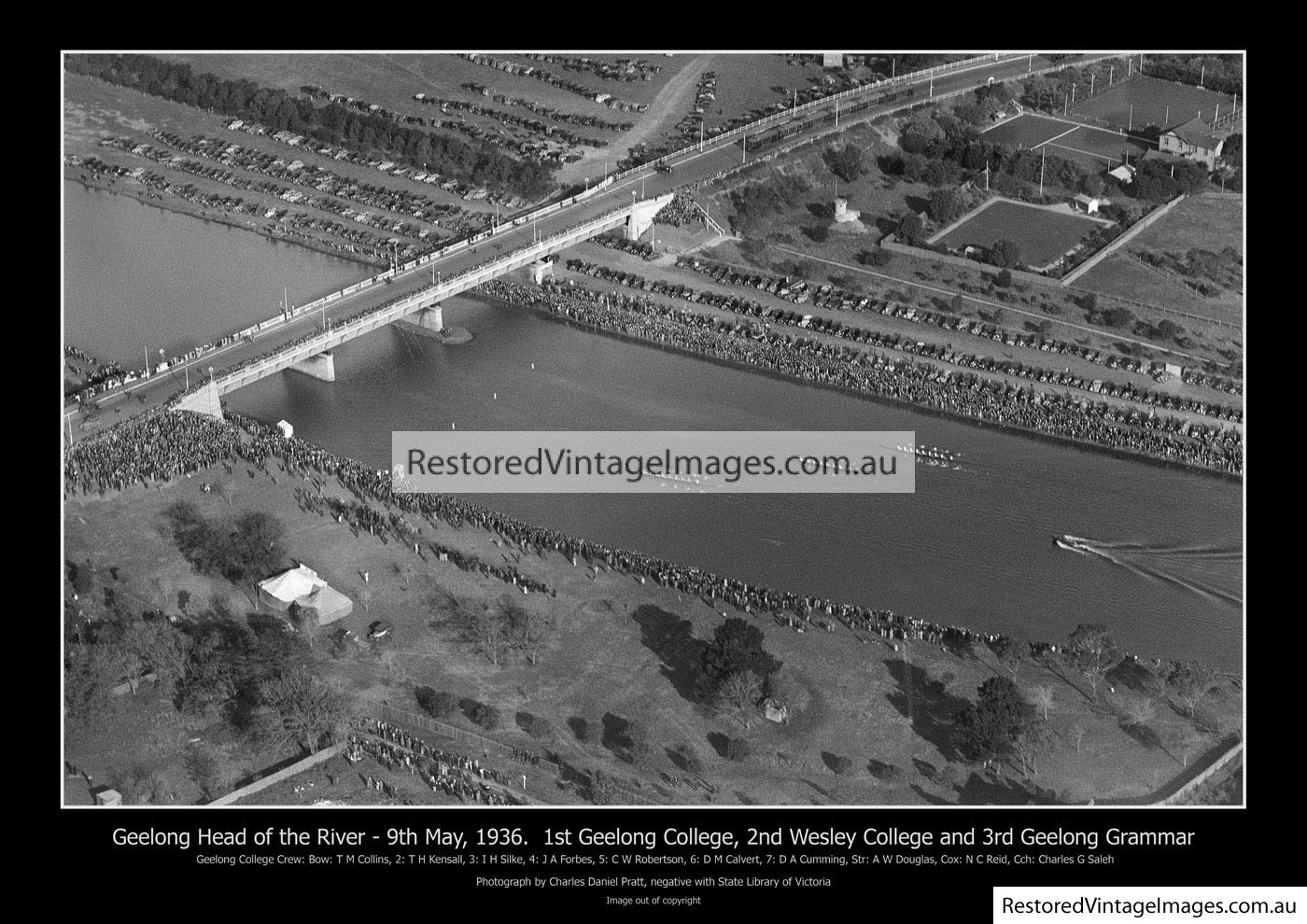 Geelong Head Of The River 1936