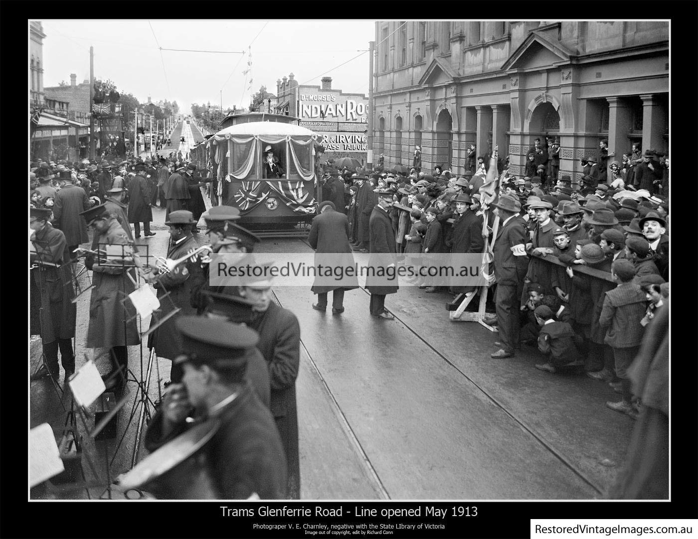 Glenferrie Road Tram 1916