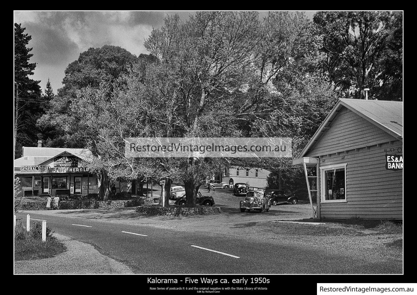 Kalorama Five Ways 1950s