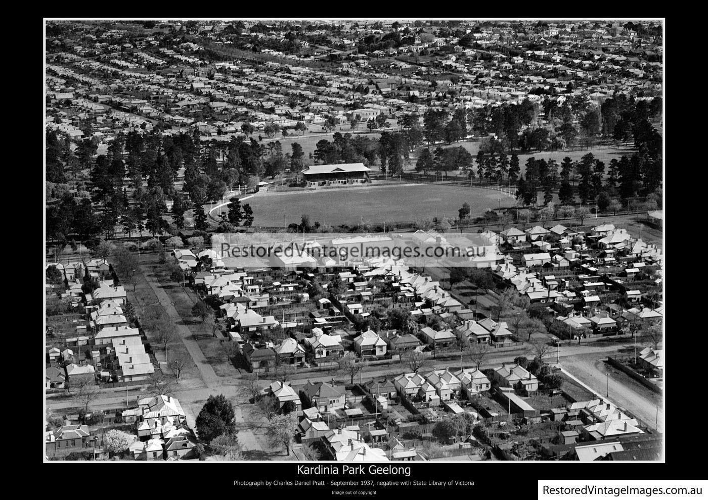 Kardinia Park – September 1937