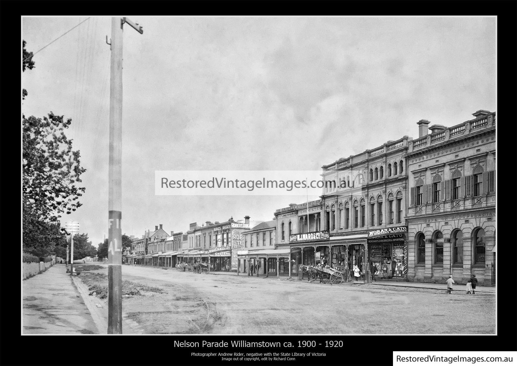Nelson Parade Looking South – Williamstown 1910-20