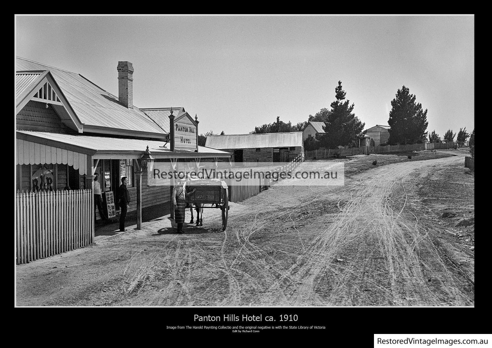 Panton Hill Hotel 1910