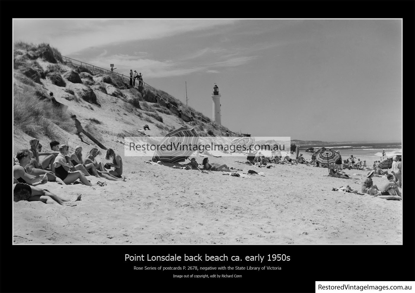 Point Lonsdale Back Beach Early 1950s
