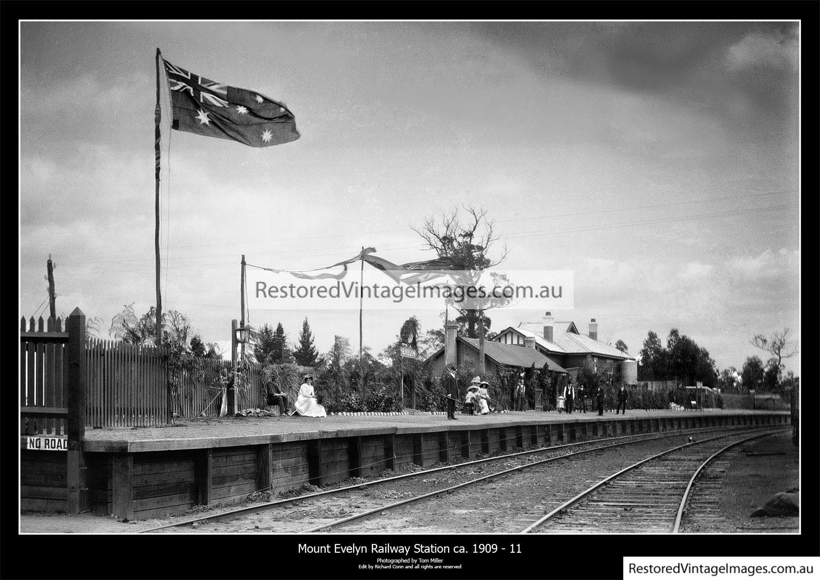 Mt Evelyn Station 1909 – 11