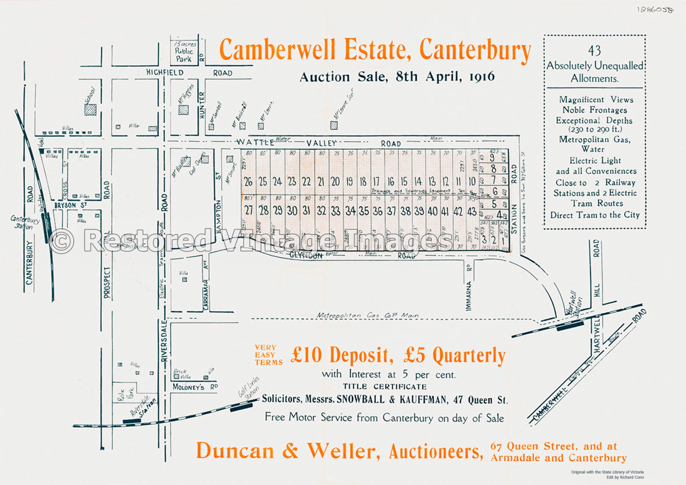 Camberwell Estate, Canterbury