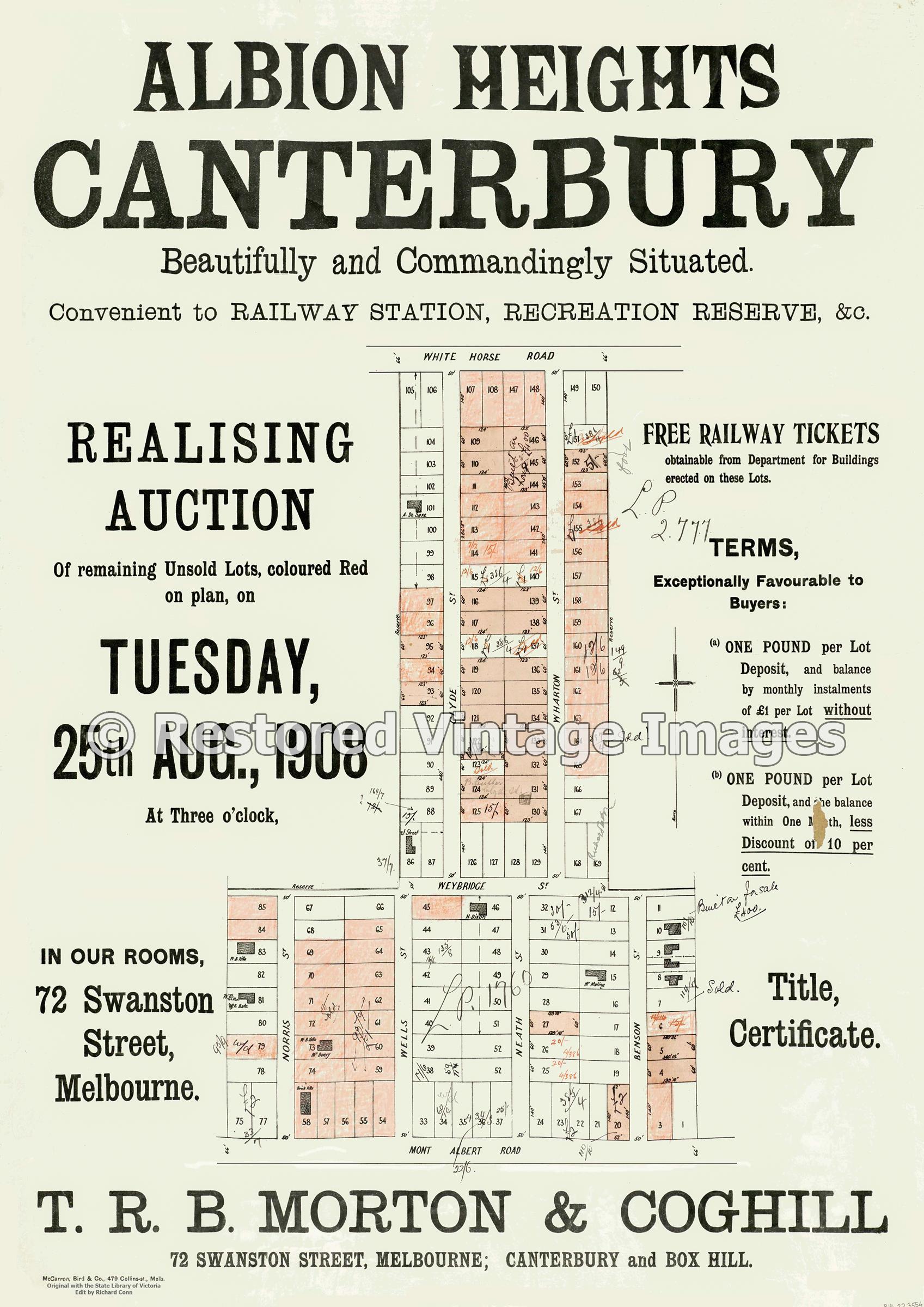 Albion Heights 1908 Canterbury – Surrey Hills