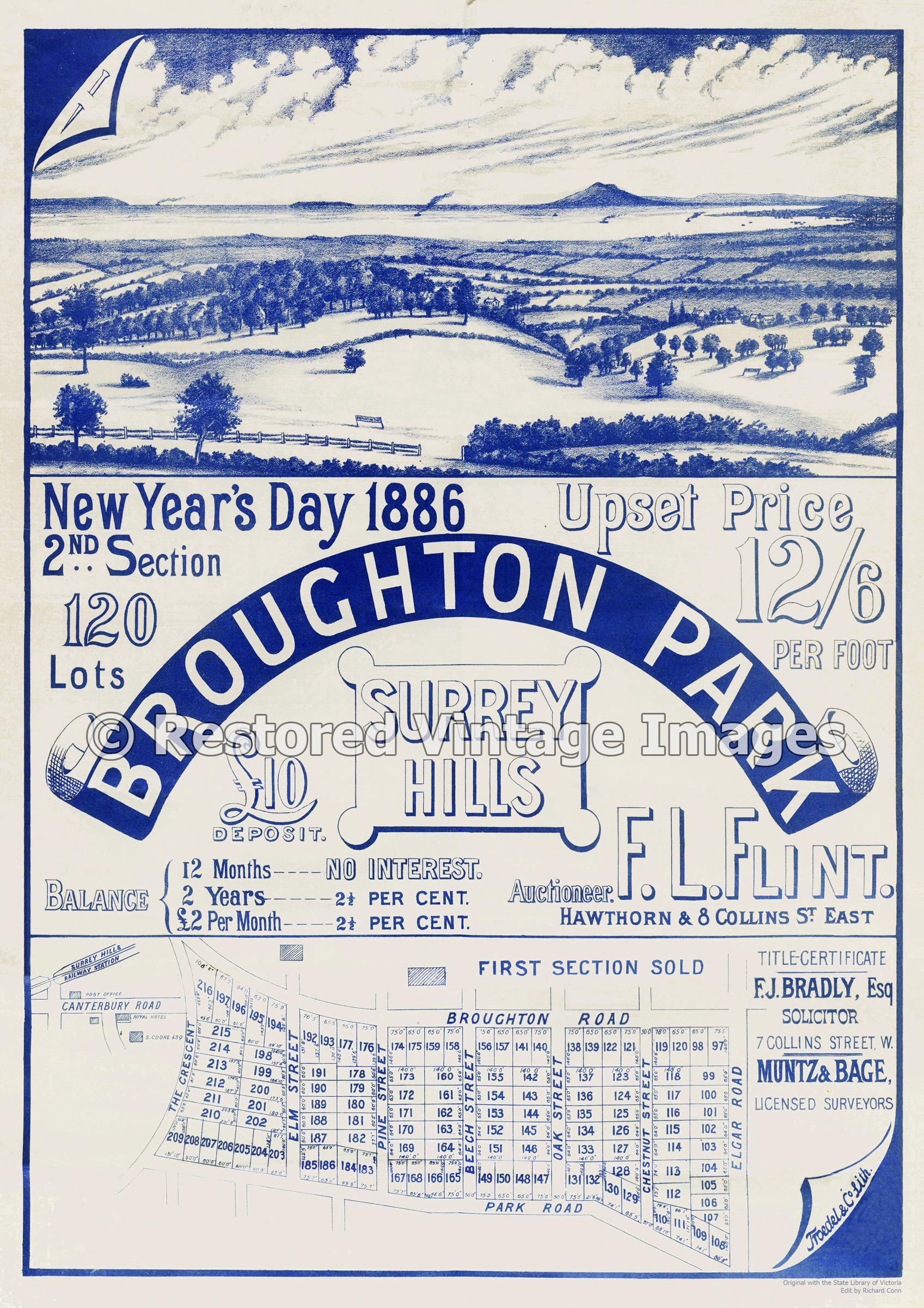 Broughton Park 1886 – Surrey Hills