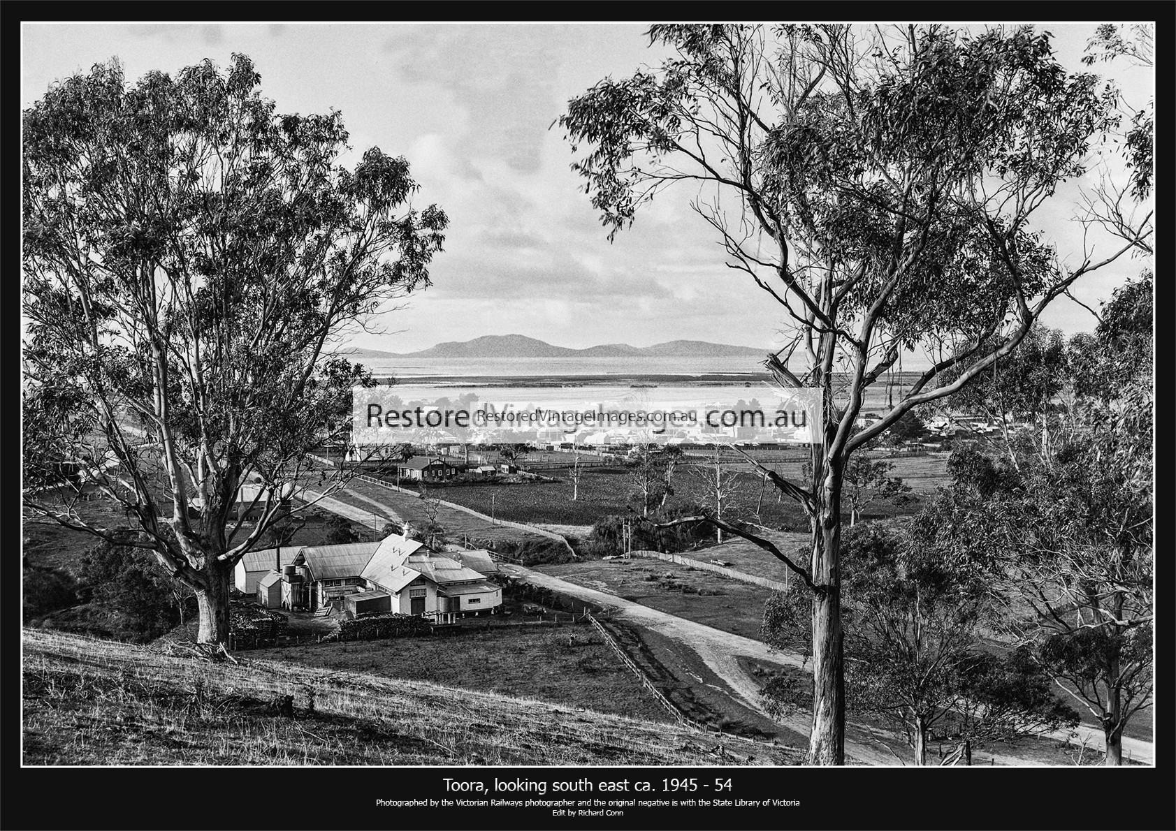 Toora, Looking South East Across Corner Inlet Towards Wilsons Promontory Ca. 1945 – 54